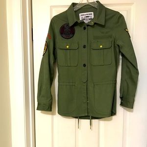 Zadig & Voltaire Military style jacket